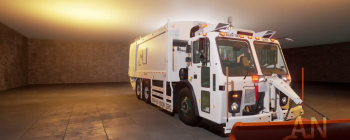 VR Garbage Truck Driving