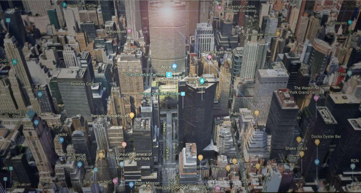 VR- DBox – NY Manhattan City