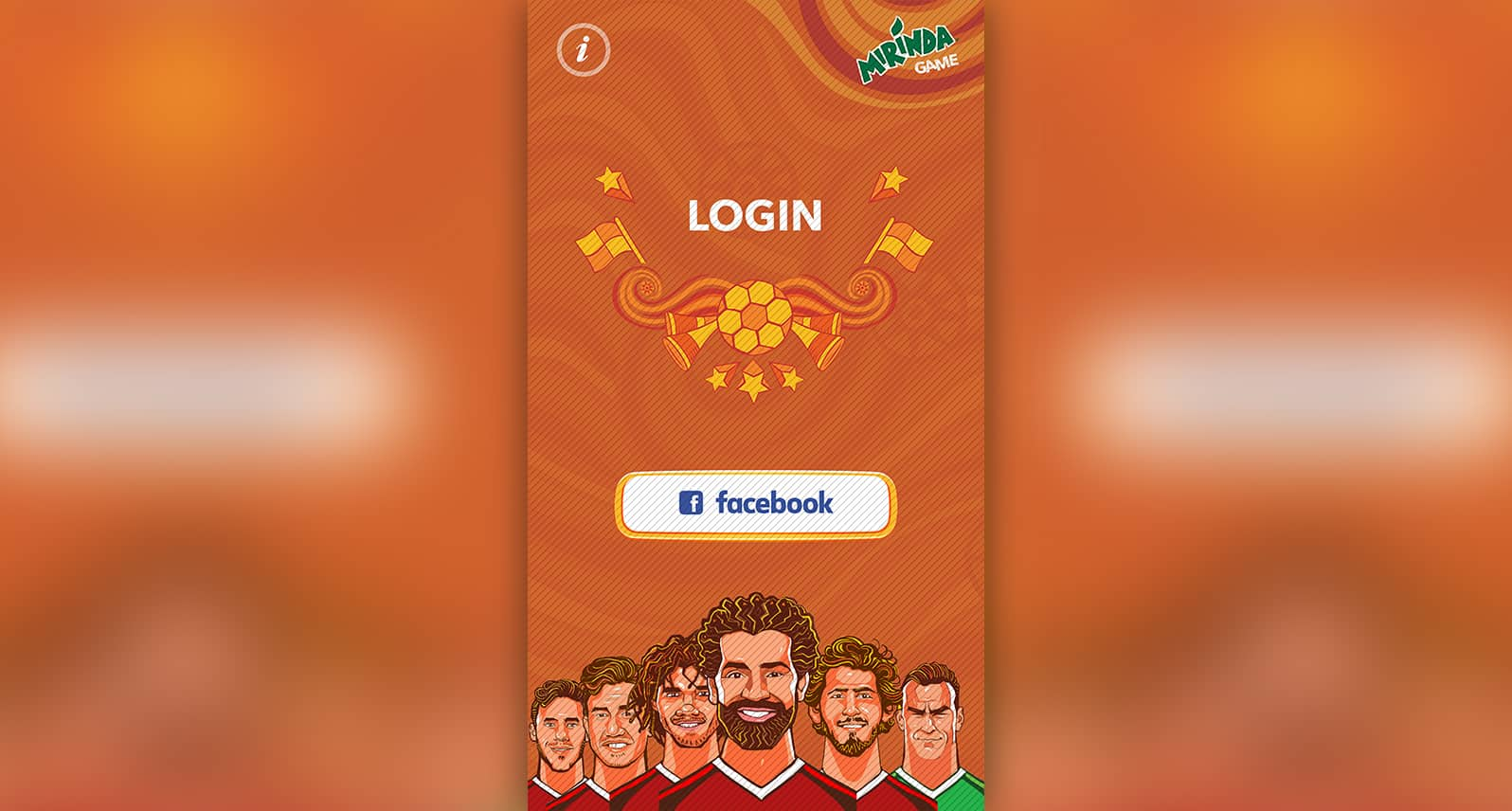 Mirinda AR Game – Egyptian Football Team
